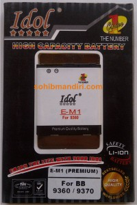 Baterai Double power Idol EM1 Premium